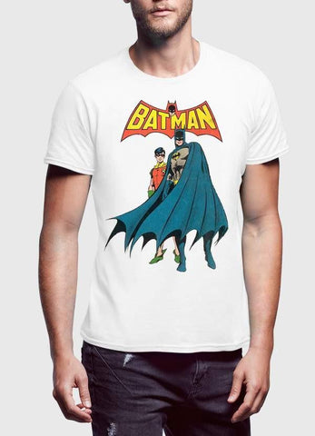 Batman T-SHIRT Batman Standing 2 Men T-Shirt