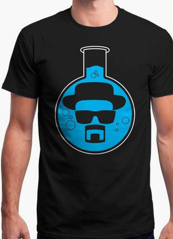 Breaking Bad T-SHIRT HEISENBERG BEAKER - OFFICIAL TEE