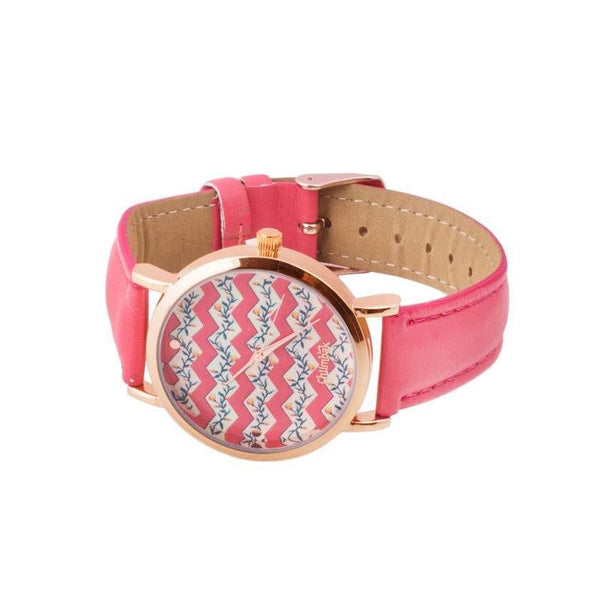 Chumbak India Accesories Dainty Branches Pink Wrist Watch