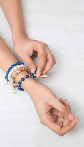 Chumbak India Accesories Get Charmed Bracelets Blue