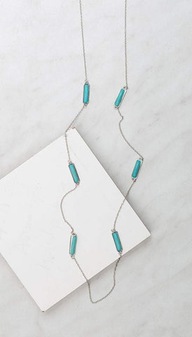 Chumbak India Accesories Tiny Teal Bead Necklace