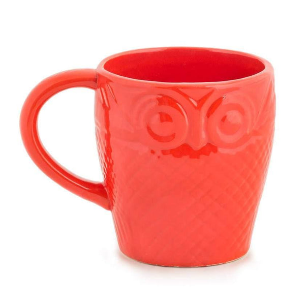 Chumbak India Mug Owl Is Well Mug Red
