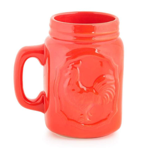 Chumbak India Mug Rocking Rooster Mug- Red
