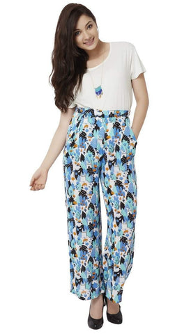 Chumbak India Pants Tea Garden Palazzo Pant