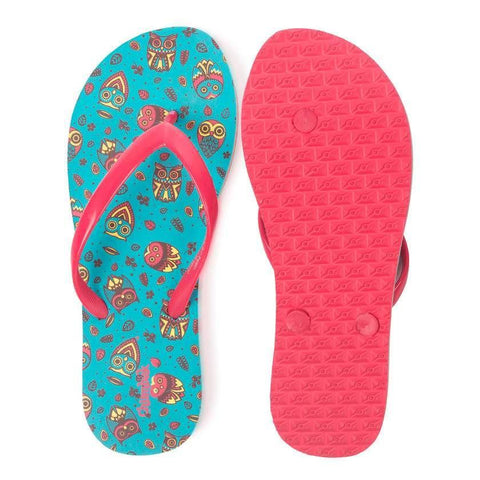 Chumbak India Shoes Autumn Owls Flip Flops
