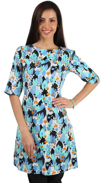 Chumbak India Tea Garden Short Tunic