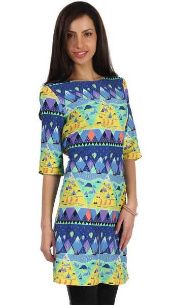 Chumbak India Triangle Town Short Tunic
