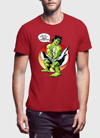 Comic T-SHIRT Funny Hulk T-Shirt