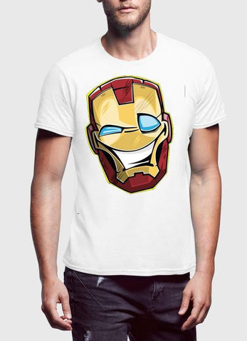0e9d67b138 ... Comic T-SHIRT Funny Iron Man T-Shirt ...