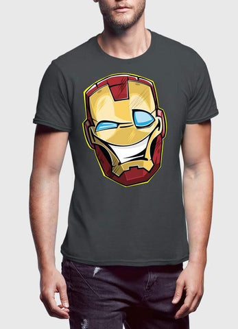 Comic T-SHIRT Funny Iron Man T-Shirt