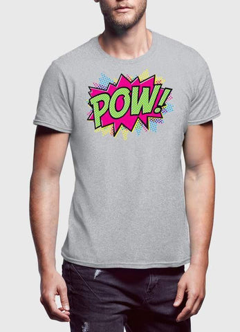 Comic T-SHIRT Pow Man T-Shirt