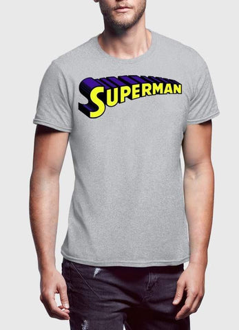 Comic T-SHIRT Super Man Logo T-Shirt