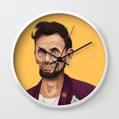 Dany Designs Wall Clock Abraham Lincoln Wall clock