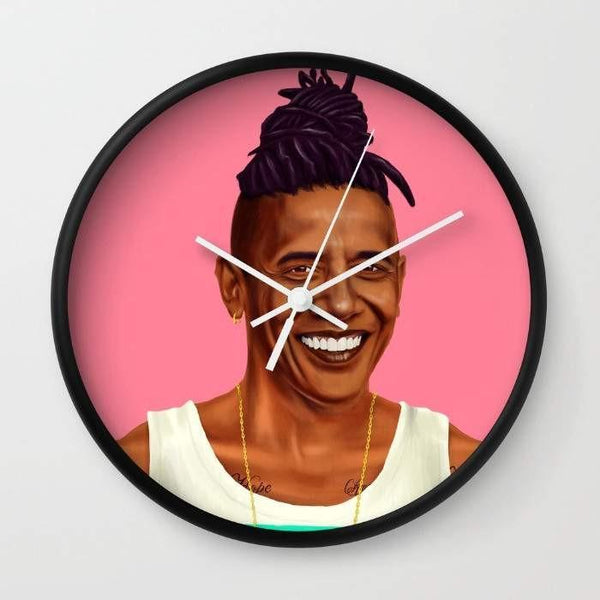 Dany Designs Wall Clock Barack Obama Wall clock