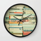 Dany Designs Wall Clock Bookworm Wall clock
