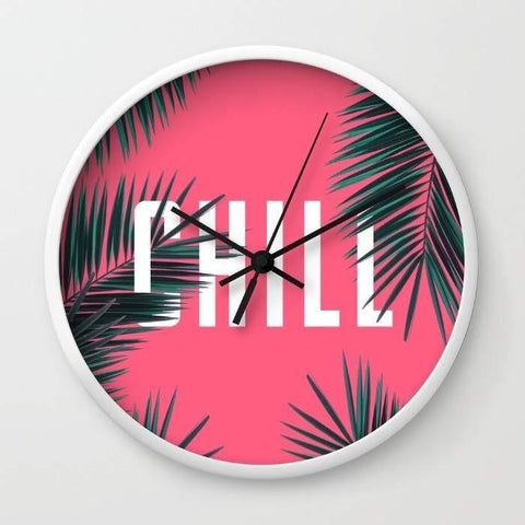Dany Designs Wall Clock Chill Wall clock