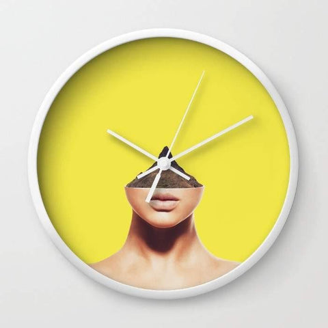 Dany Designs Wall Clock Displacement Wall clock