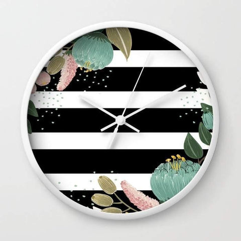 Dany Designs Wall Clock Fancy Lines Wall clock