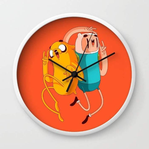 Dany Designs Wall Clock Finn & Jake Wall clock