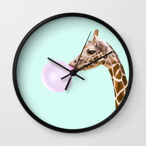 Dany Designs Wall Clock GIRAFFE Wall clock