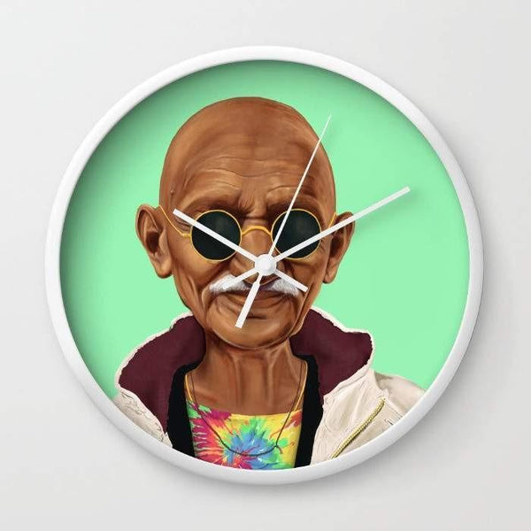 Dany Designs Wall Clock Mahatma Gandhi Wall clock