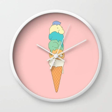 Dany Designs Wall Clock Melting Wall clock