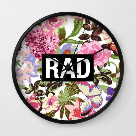Dany Designs Wall Clock Rad Wall clock