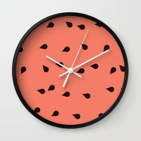 Dany Designs Wall Clock SCATTERED WATERMELON Wall clock