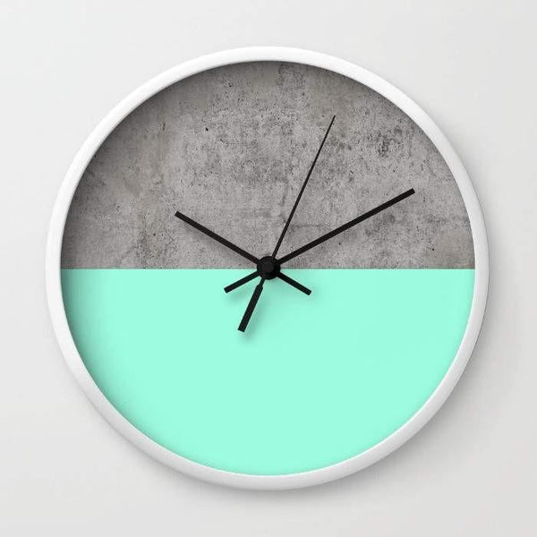 Dany Designs Wall Clock Sea on Concrete Wall clock