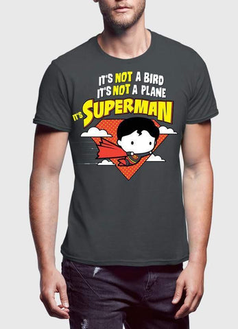 DC Comic T-SHIRT SUPERMAN  IT'S NOT A BIRD Printed Tshirt
