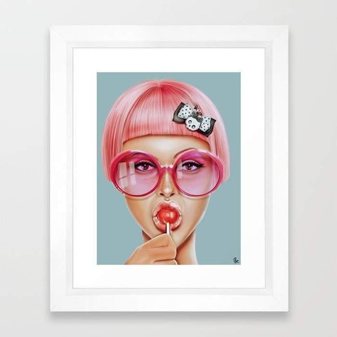 Deny Designs Framed Art Prints Cool Redux Frame