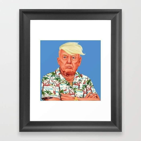 Deny Designs Framed Art Prints Donald Trump Frame