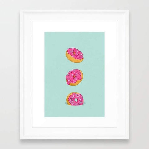 Deny Designs Framed Art Prints Doughnuts Frame