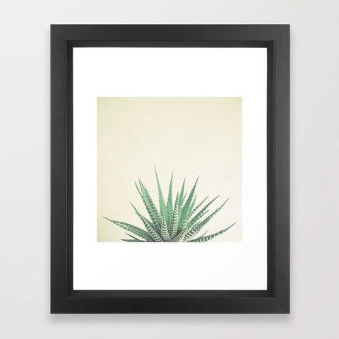 Deny Designs Framed Art Prints Haworthia