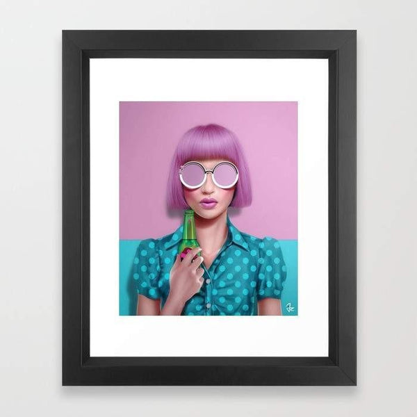 Deny Designs Framed Art Prints Magic Potion