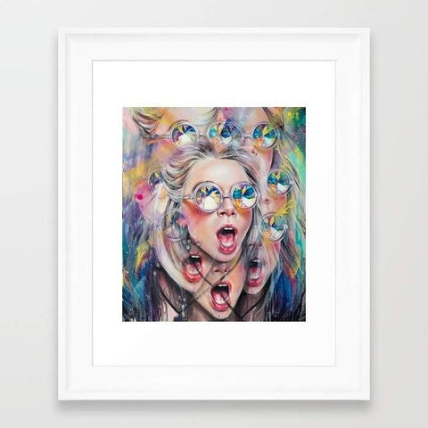 Deny Designs Framed Art Prints Perception