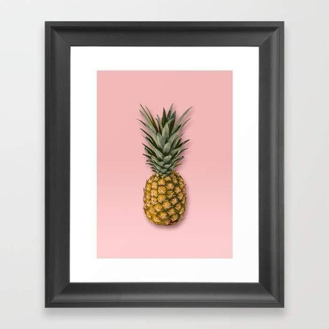 Deny Designs Framed Art Prints Pineapple