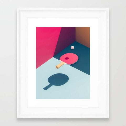 Deny Designs Framed Art Prints Pop Pong