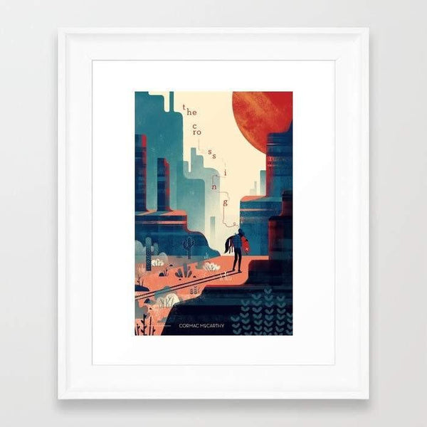 Deny Designs Framed Art Prints The Crossing Frame