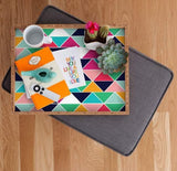 Deny Designs Trays Love Triangle Tray