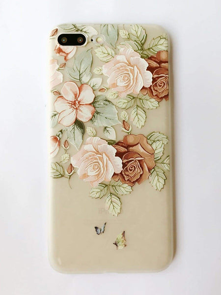 Emma Accessories Electronics 7p/8p Flower Print iPhone Case