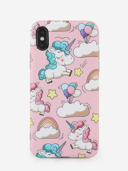 Emma Accessories Electronics XR Cartoon Print iPhone Case