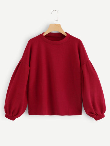 Emma Clothing Women M Bishop Sleeve Jumper Sweater