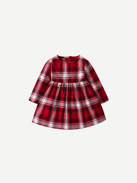 Emma Kids Kids 80 Toddler Girls Plaid Dress