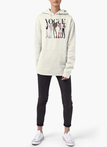 Farah Sweat Shirt VOGUE - SPICE GIRLS WOMEN HOODIE GRAY