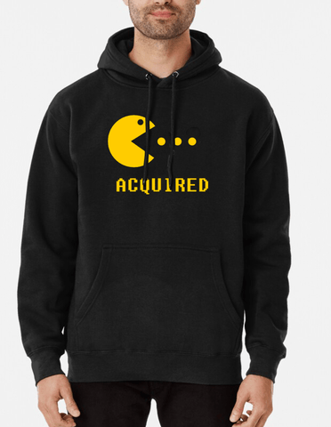 Farhan Ahmed Hoodie Acquired Hoodie Black