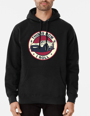 Farhan Ahmed Hoodie This Is How I Roll Hoodie Black