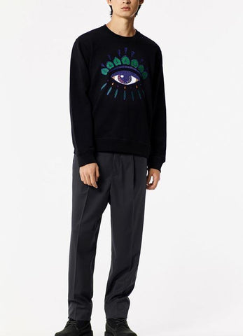 Farhan Ahmed Sweat Shirt EYE SWEATSHIRT BLACK