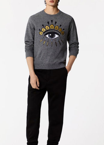 Farhan Ahmed Sweat Shirt EYE SWEATSHIRT CHARCOAL