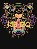 Farhan Ahmed Sweat Shirt Kenzo paris tiger WOMEN HOODIE BLACK